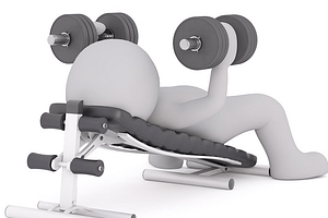 exercise, home fitness equipment